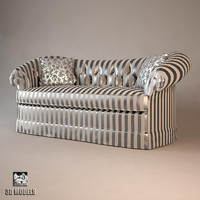 francesco molon upholstered 3d model