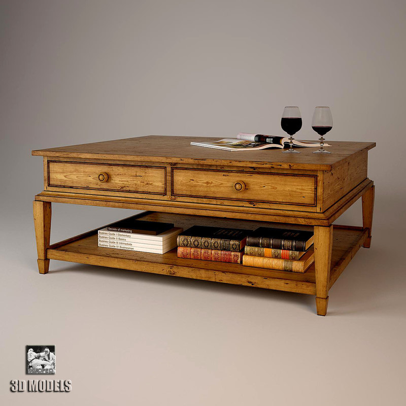 table ralph lauren 3d model