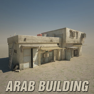 3ds max arab building truax