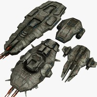 4 Space Cruisers