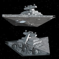 star destroyer 3d max