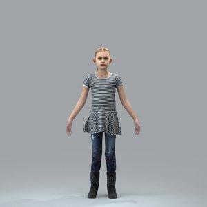 axyz character human 3d max