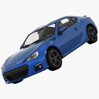 max subaru brz sports car