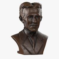Nikola Tesla Bust