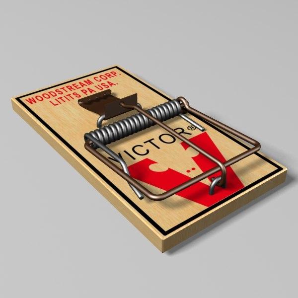 3d mousetrap model