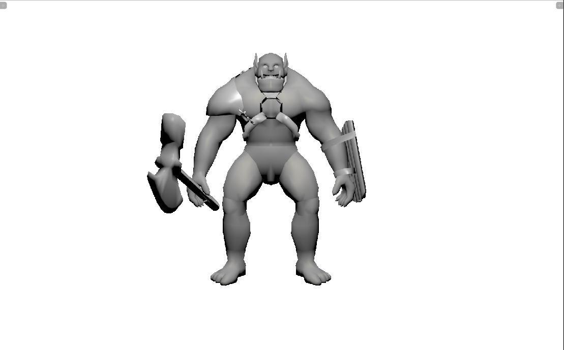 3d model orc