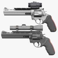 3d raging bull 454 casull model