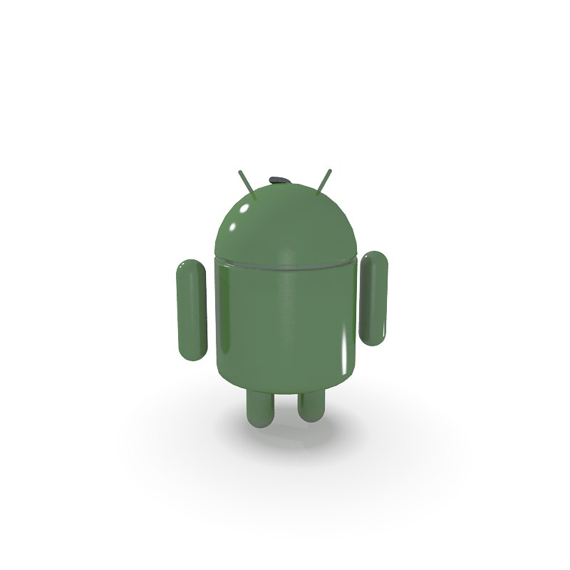 android men 3d model