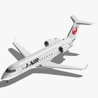 3ds bombardier crj-200 japan airlines