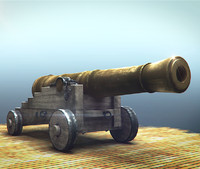 Navy cannon 18th century