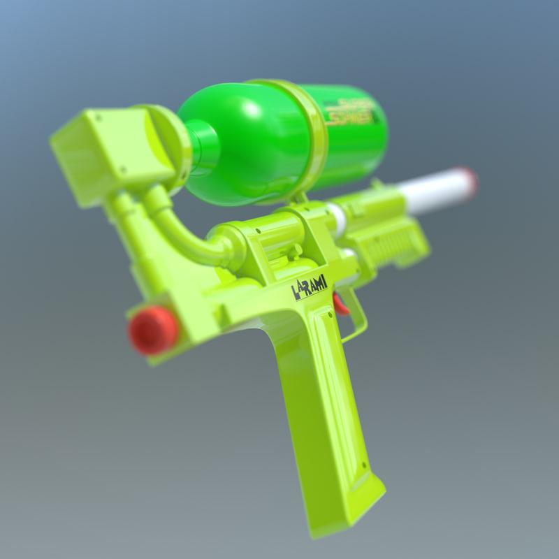 lightwave supersoaker water gun