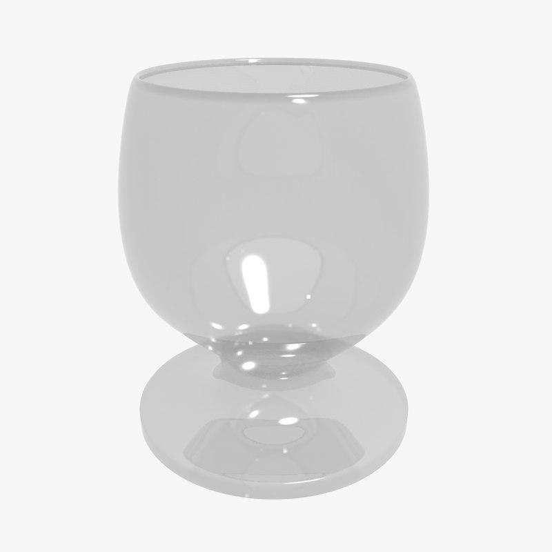 3d model glassware
