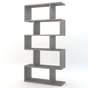 3d arteriors carmine bookshelf model