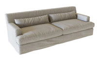 max meridiani bogart slim sofa