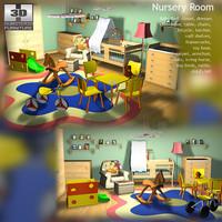 3d baby nurseryroom