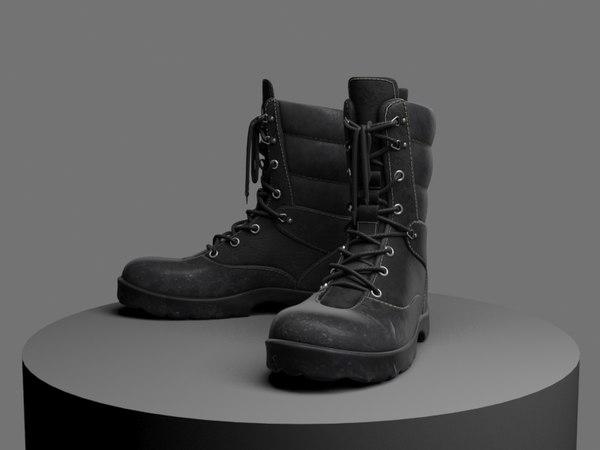 boots 3d max