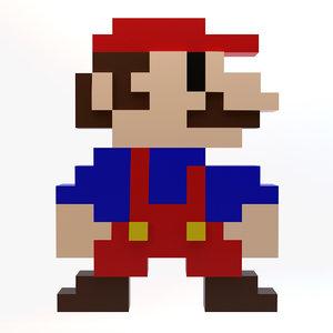 mario 8-bit 3ds