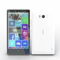 3d nokia lumia 930 white model