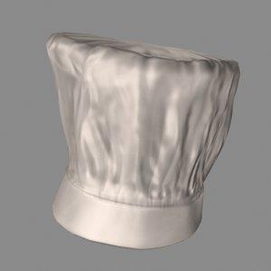 chefs hat 3d model