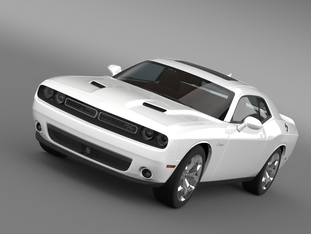 dodge challenger rt classic 3ds