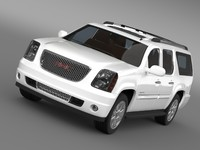 3d gmc denali yukon model