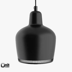 artek lamp a330s alvar aalto 3ds