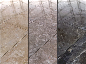 3 Natural Stone Tile Textures