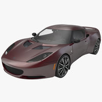 evora ips 2014 sport car 3d model