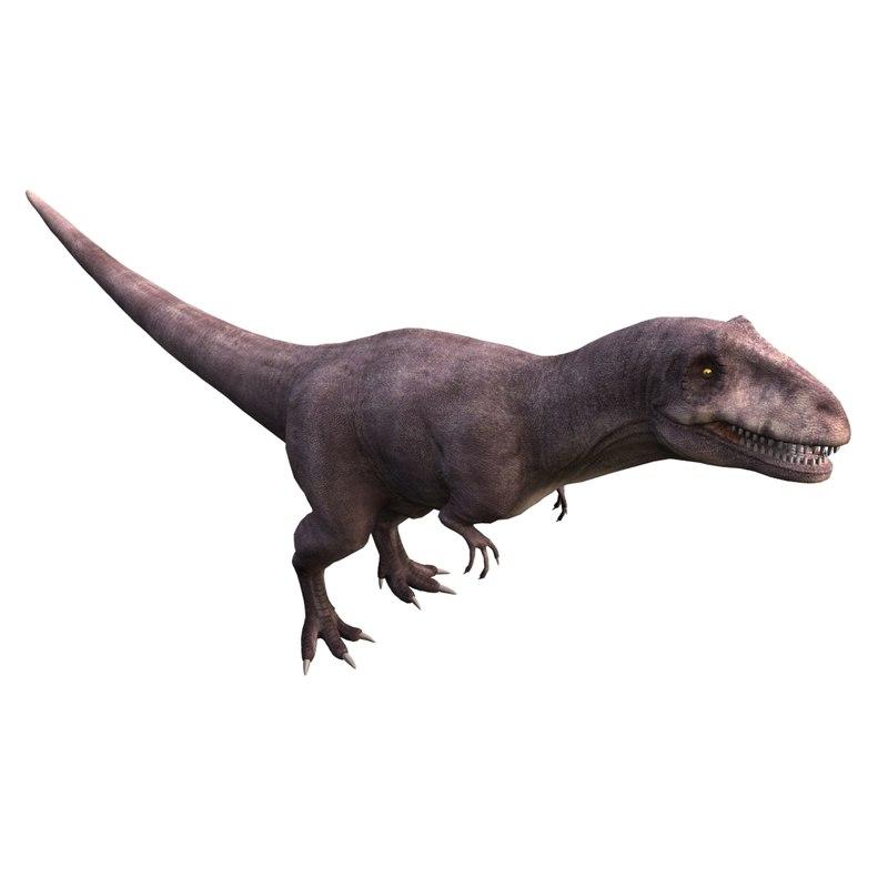 3ds max saurophaganax