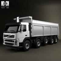 3d truck 10x4 dumper