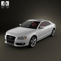 3d audi a5 coupe model