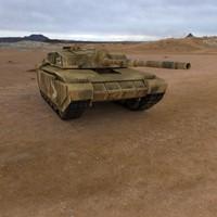 challenger 2 tanks 3d x