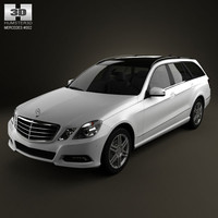 3d model mercedes-benz estate