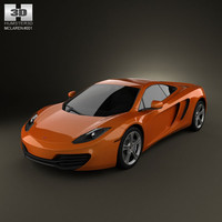 mclaren mp4-12c 2011 sport car 3d max