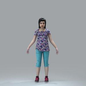 3d model axyz character human