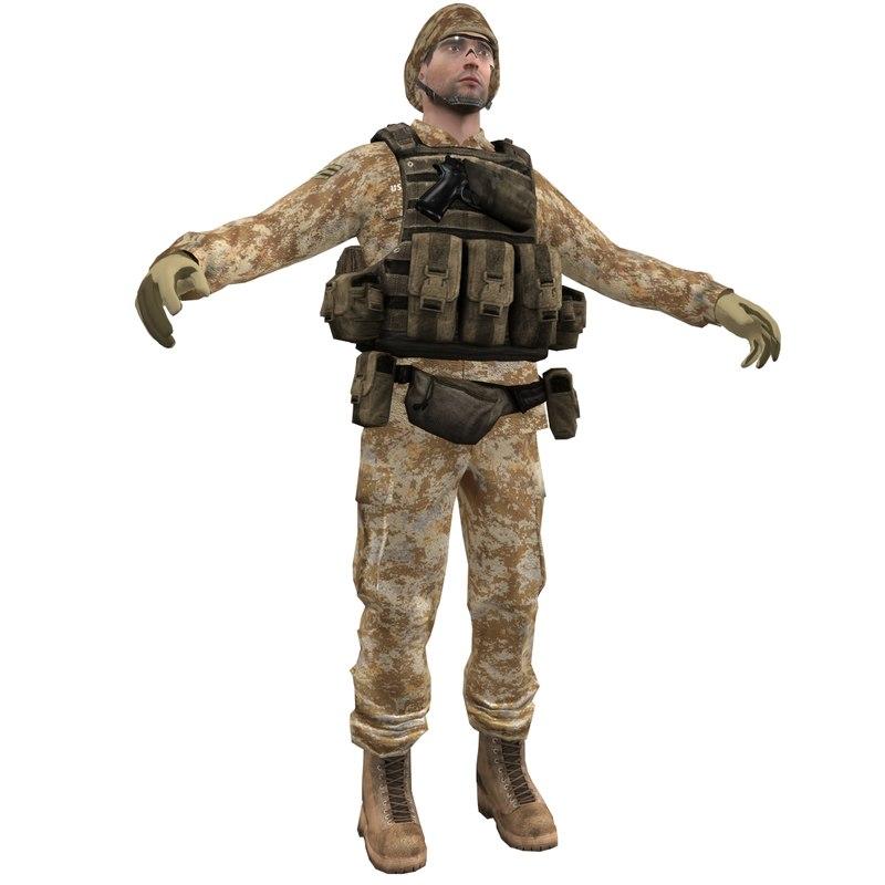 3d soldier 1