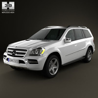 mercedes-benz gl 2010 3d model