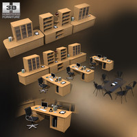 maya office set 10