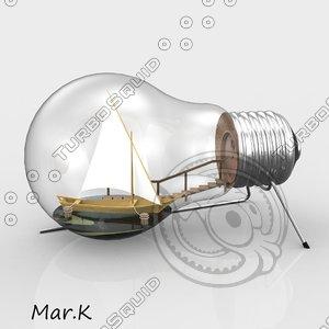 ship bulb obj
