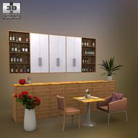 3ds max restaurant 01