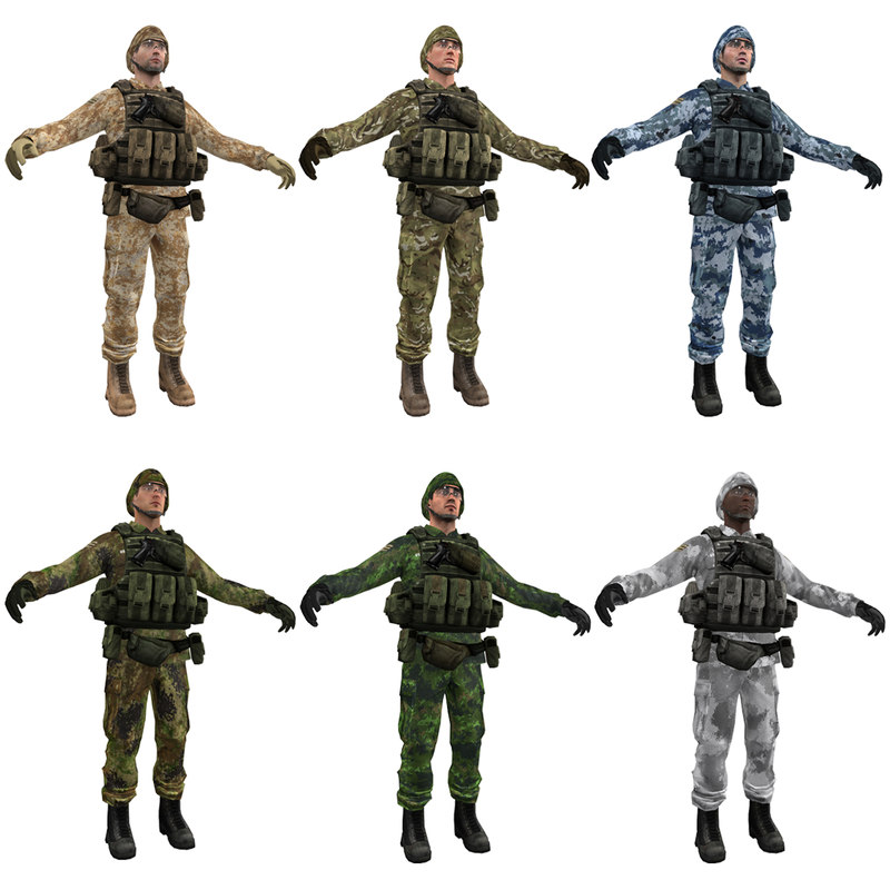 3ds max soldier 1