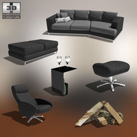 poser living room 03 set