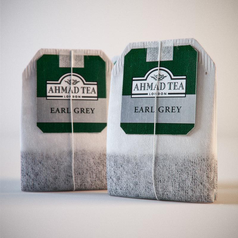 3d ahmad tea bag
