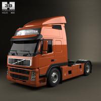 tractor fm 3d model