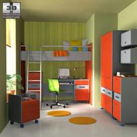 3d nursery room 3 s model