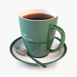 tea cup 3d max