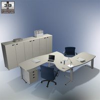 set office 21 3d max