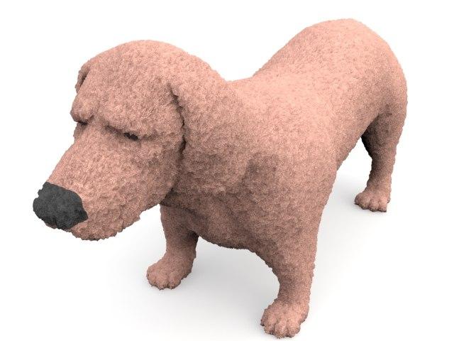 stuffed dog 3ds