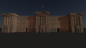 buckingham palace 3d max