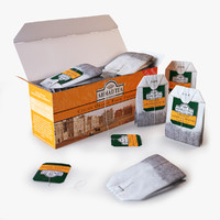 Tea Ahmad Orange Pekoe In Box